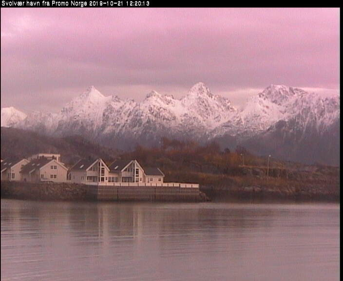Webcam Svolvaer (Lofoten)